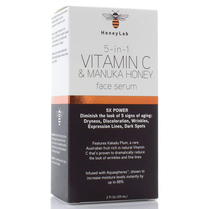 HoneyLab 5in1 Vitamin C & Manuka Honey Face Serum, 59ml