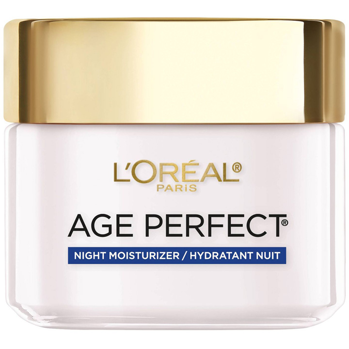 Kem dưỡng đêm L'Oreal Paris Age Perfect Anti-Sagging + Even Tone, 70g