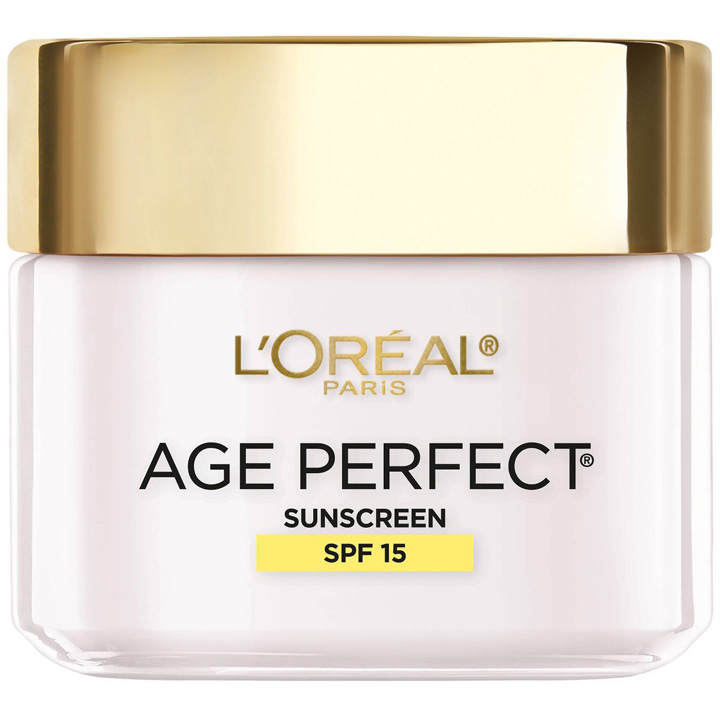 Kem dưỡng ngày L'Oreal Paris Age Perfect Anti-Sagging + Even Tone SPF 15, 70g