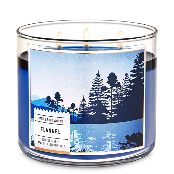 Nến thơm Bath & Body Works Flannel, 411g