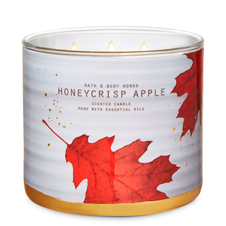 Nến thơm Bath & Body Works Honeycrisp Apple, 411g