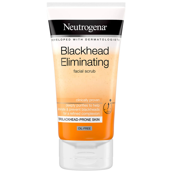 Rửa mặt Neutrogena Blackhead Eliminating Facial Scrub, 150ml