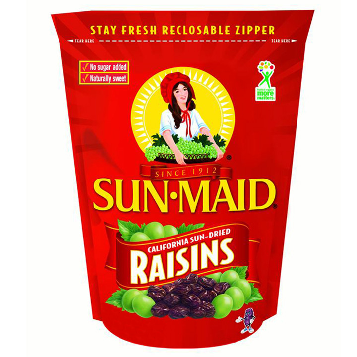 Sun- Maid California Sun- Dried Raisins, 850.5g