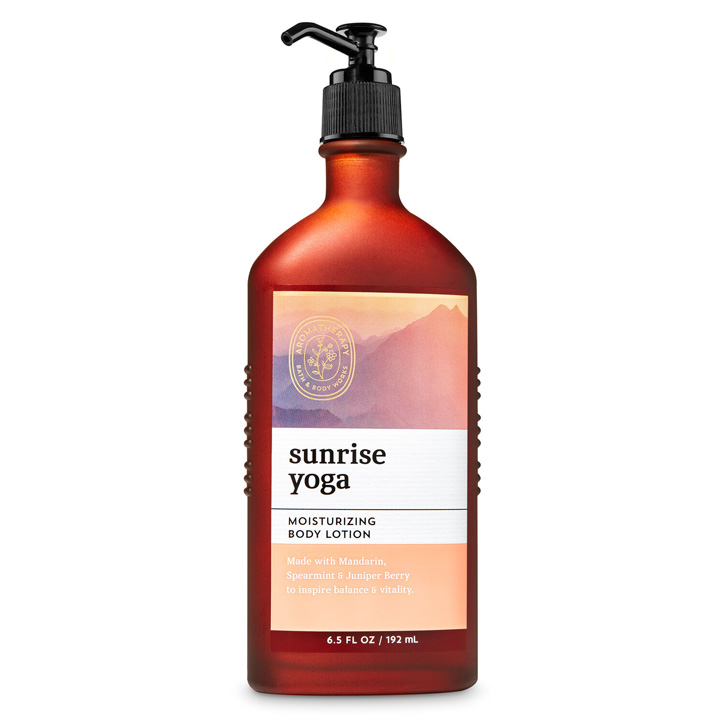 Lotion dưỡng da Bath & Body Works Aromatherapy - Sunrise Yoga, 192ml