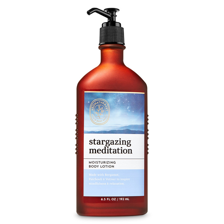 Lotion dưỡng da Bath & Body Works Aromatherapy - Stargazing Meditation, 192ml