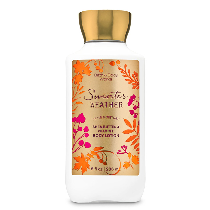 Lotion dưỡng da Bath & Body Works - Sweater Weather, 236ml