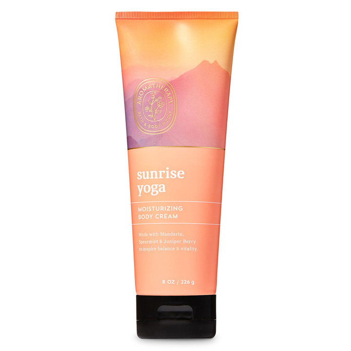 Kem dưỡng da Bath & Body Works Aromatherapy - Sunrise Yoga, 226g