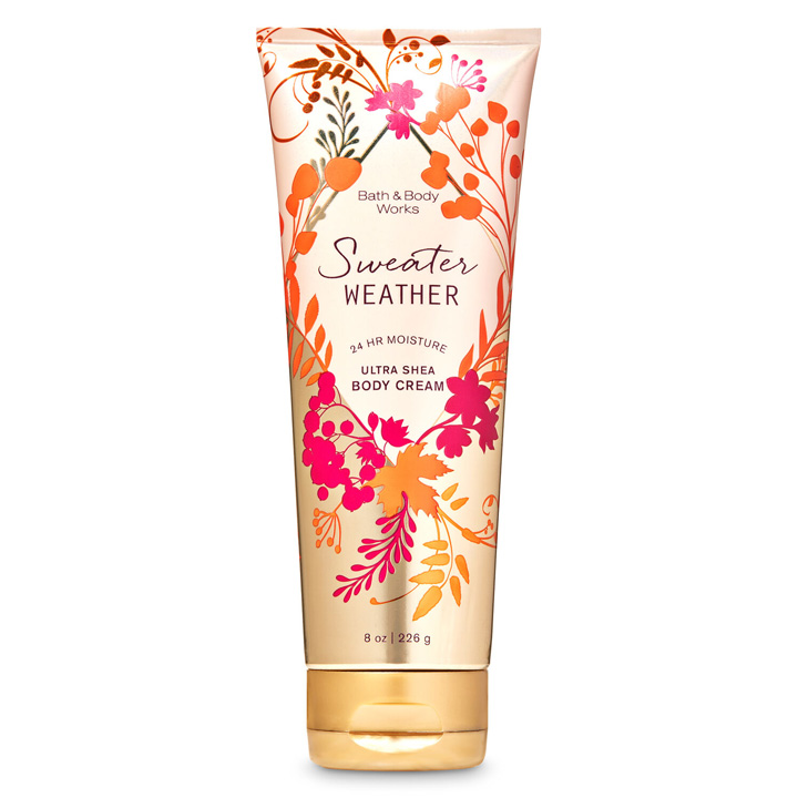 Kem dưỡng da Bath & Body Works - Sweater Weather, 226g