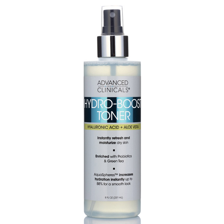 Toner Advanced Clinicals Hydro-Boost, 237ml