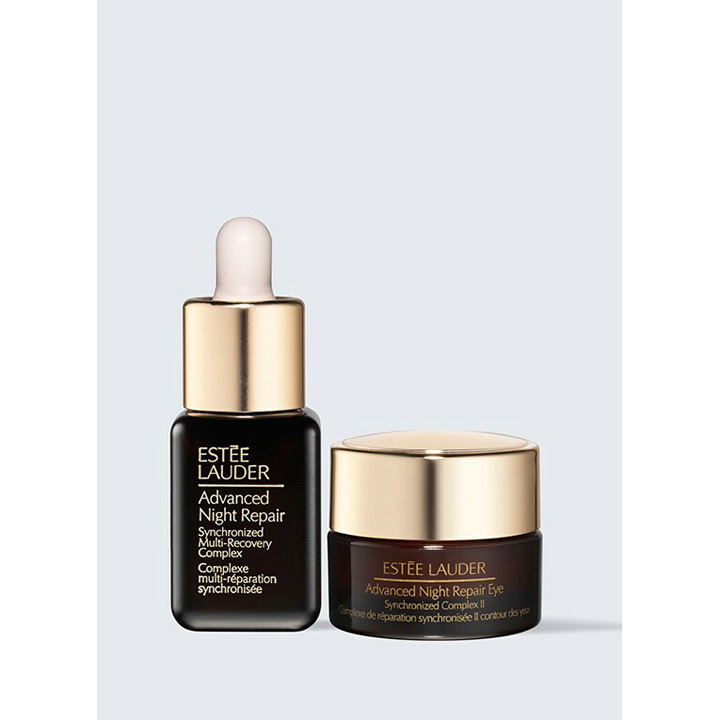 Estee Lauder The Night Is Yours Repair Serum + Eye Creme Mini Set