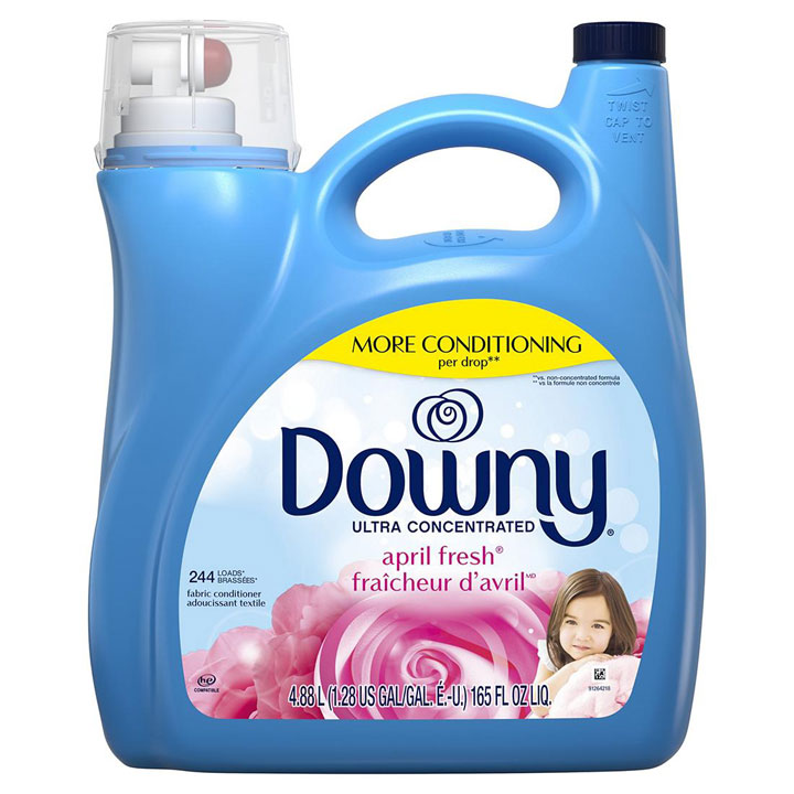 Nước xả vải Downy Ultra Concentrated April Fresh, 4.88L