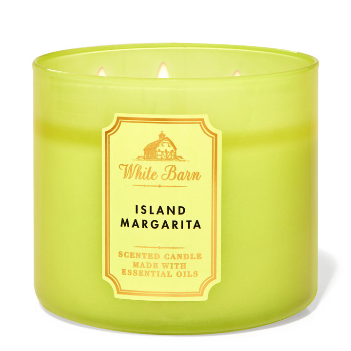 Nến thơm Bath & Body Works White Barn Island Margarita, 411g