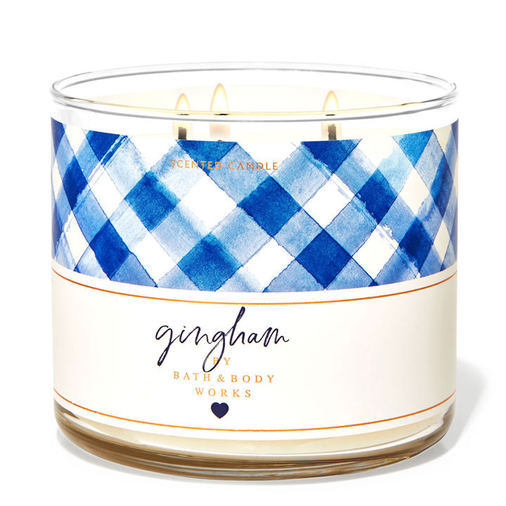 Nến thơm Bath & Body Works Gingham, 411g