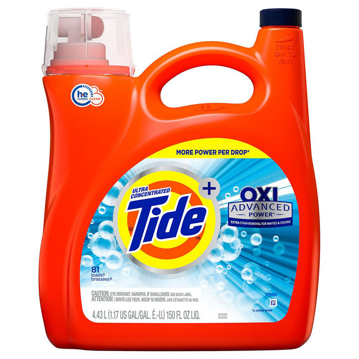 Nước giặt Tide Advanced Power Ultra Concentrated with Oxi, 4.43L