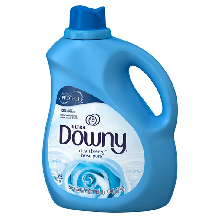 Nước xả vải Downy Ultra Clean Breeze, 3.06L