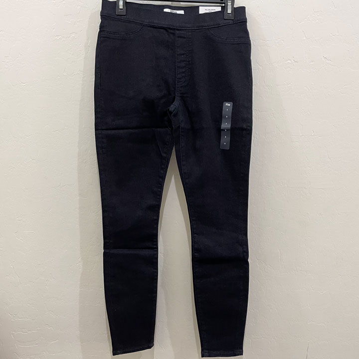 Quần Tommy Hilfiger Denim Pull On Legging - Dark Charcoal Grey, Size S