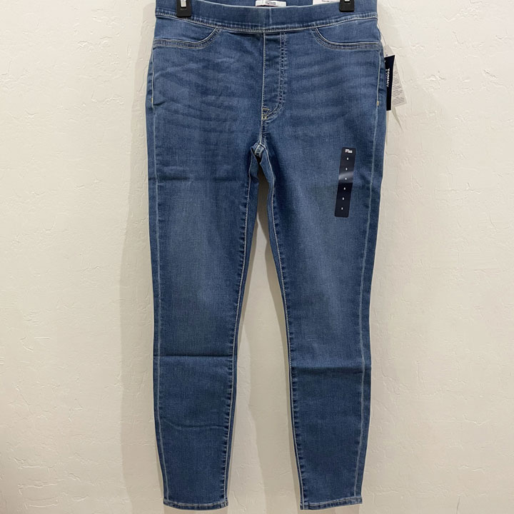 Quần Tommy Hilfiger Denim Pull On Legging - Medium Wash, Size L