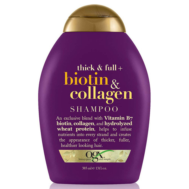 Dầu gội OGX Thick & Full + Biotin & Collagen, 385ml