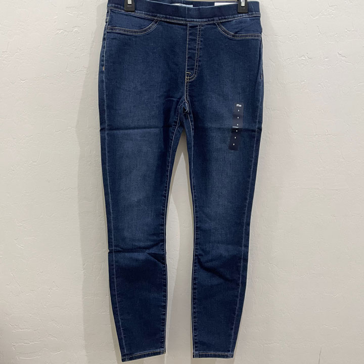 Quần Tommy Hilfiger Denim Pull On Legging - Dark Blue, Size XS