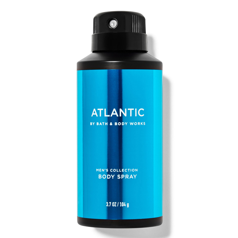 Xịt khử mùi toàn thân Bath & Body Works Men's Collection - Atlantic, 104g