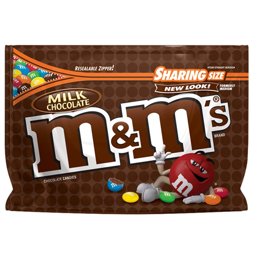 Kẹo M&M's Chocolate Sharing Size - Milk Chocolate, 303.3g