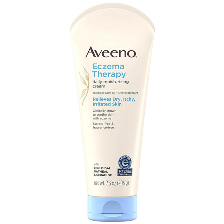 Aveeno Eczema Therapy Daily Moisturizing Cream, 206g