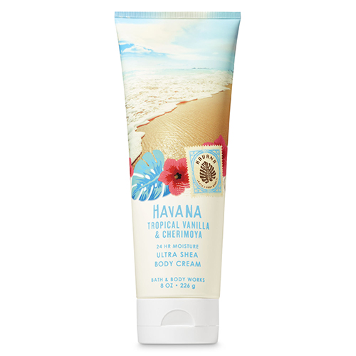 Kem dưỡng da Bath & Body Works - Havana Tropical Vanila & Cherimoya, 226g