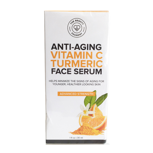 The Beauty Foundry Anti-Aging Vitamin C Turmeric Face Serum, 30ml