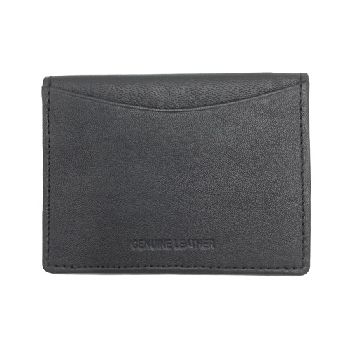 Wilson Genuine Leather Credit Card, Black