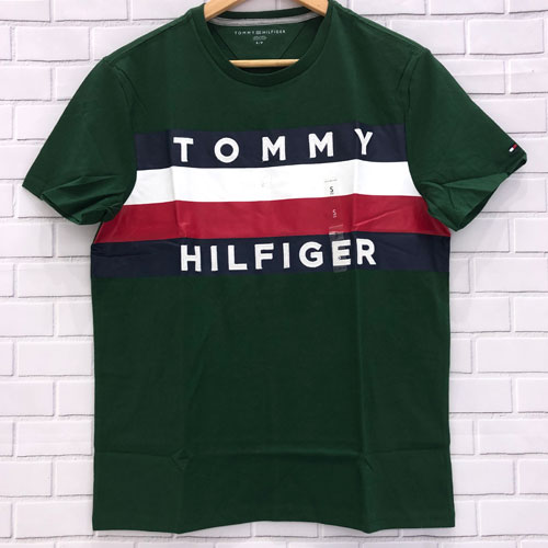 Tommy Hilfiger Classic Logo Tommy Hilfiger - Green/Red, Size S