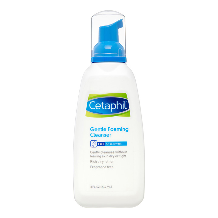 Cetaphil Gentle Foaming Cleanser, 236ml