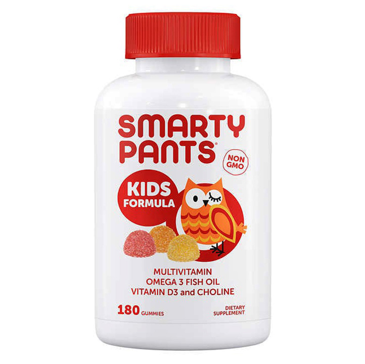 Smarty Pants Kids Formula Multivitamin, 180 viên dẻo