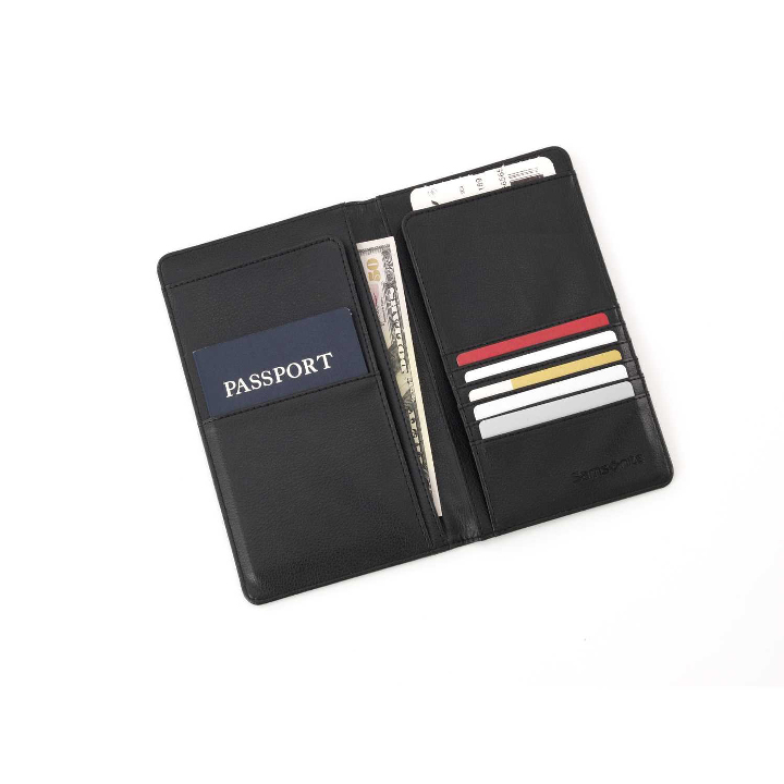 Ví Samsonite Luggage Travel Wallet, Black