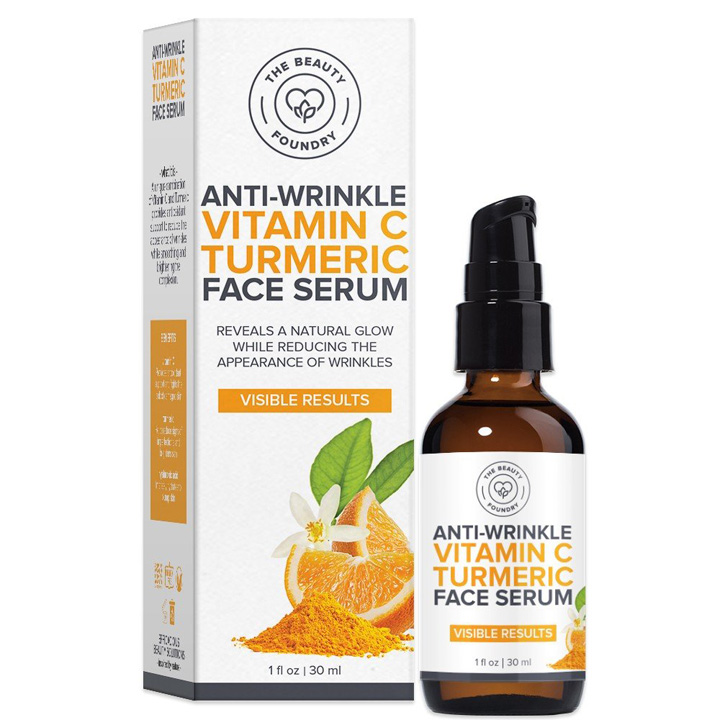 The Beauty Foundry Anti-Wrinkle Vitamin C Turmeric Face Serum, 30ml