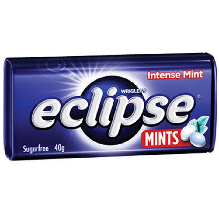 Wrigley's Eclipse Sugarfree Intense Mint, 40g