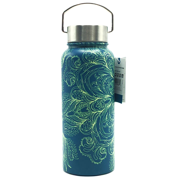 Bình giữ nhiệt Evolve Wide Mouth Stainless Steel - Green, 950ml
