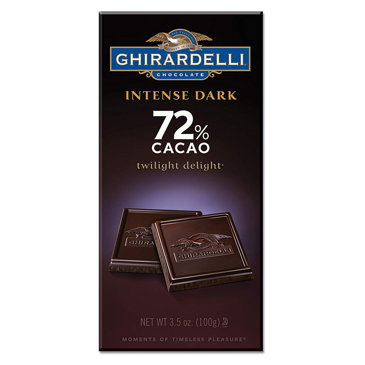Ghirardelli Chocolate Intense Dark Twilight Delight 72% Cacao, 100g