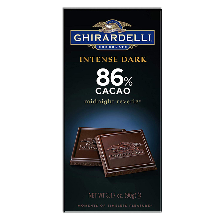 Ghirardelli Chocolate Intense Dark Midnight Reverie 86% Cacao, 90g