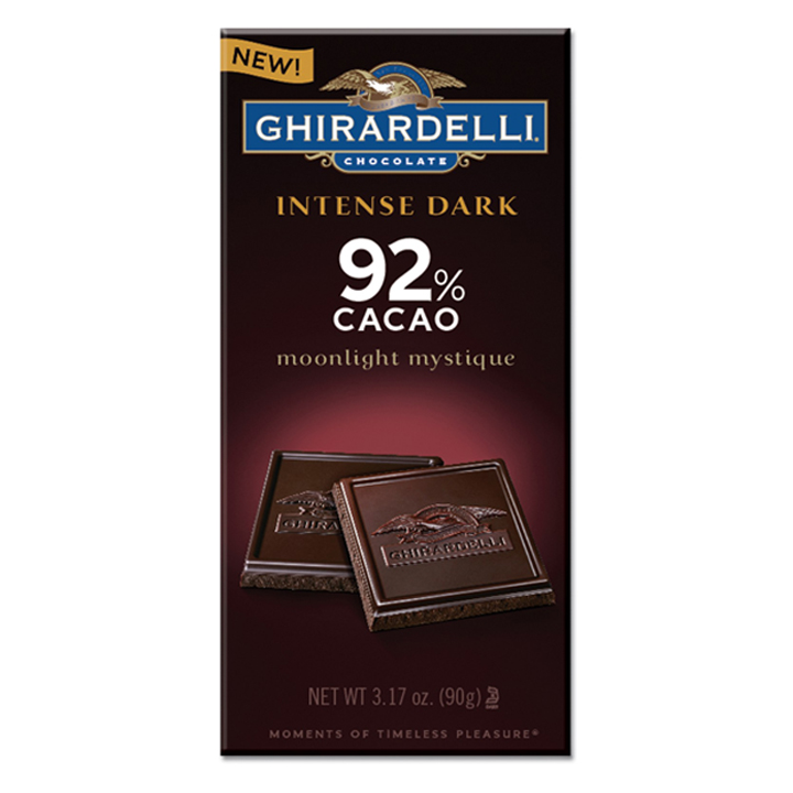 Ghirardelli Chocolate Intense Dark Moonlight Mystique 92% Cacao, 90g