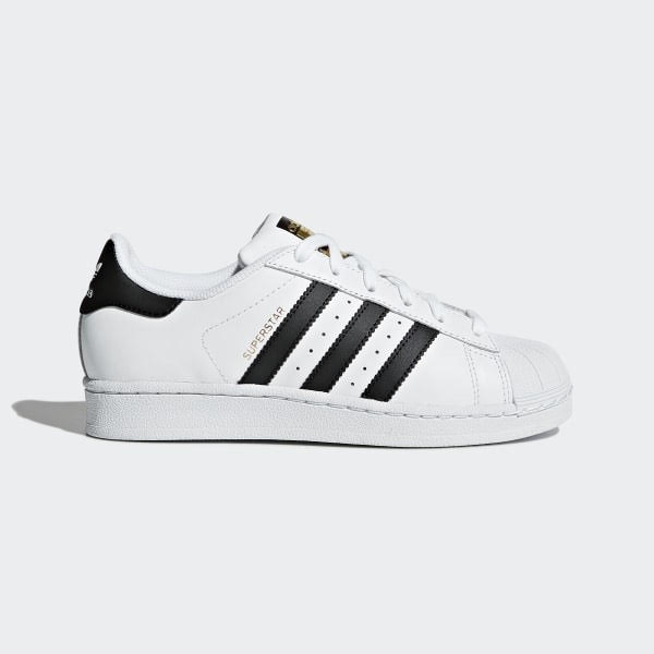 Adidas Youth Originals Superstar - Could White/ Could Black, Size 40