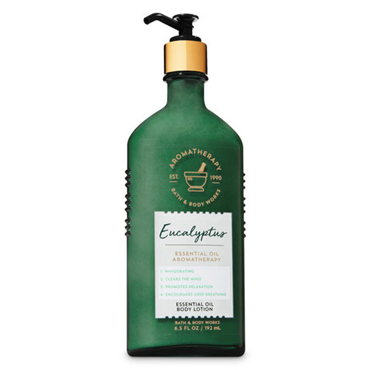 Lotion dưỡng da Bath & Body Works Aromatherapy - Eucalyptus, 192ml