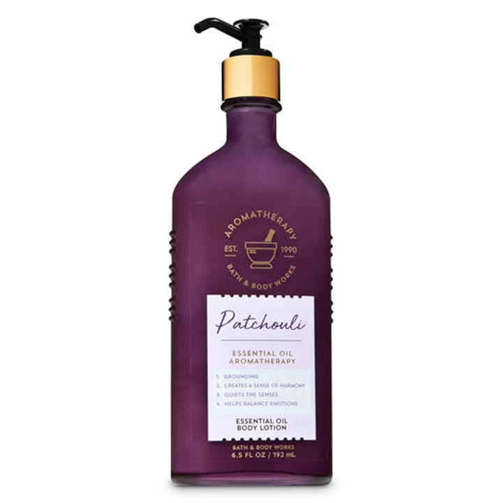 Lotion dưỡng da Bath & Body Works Aromatherapy - Patchouli, 192ml