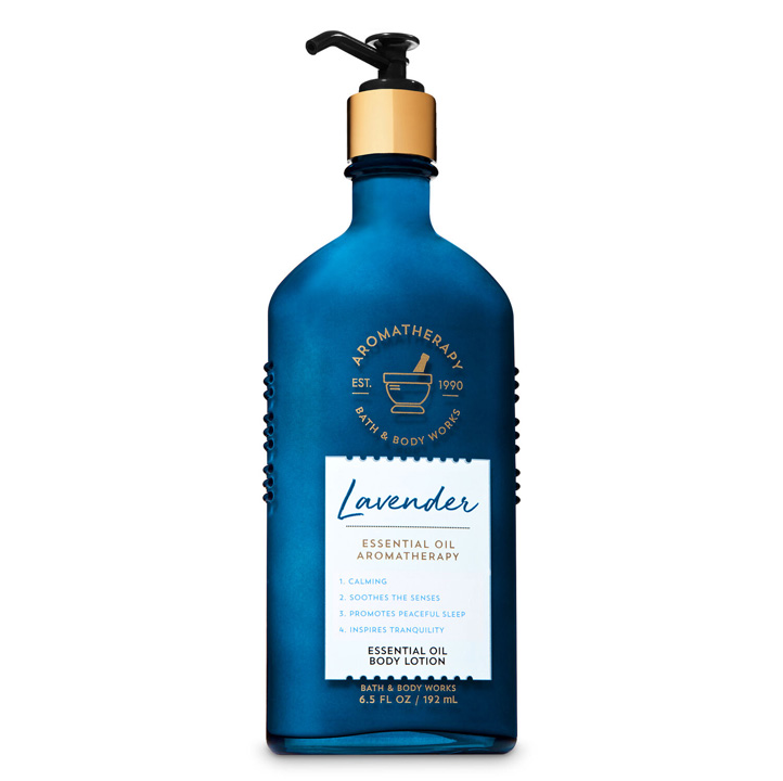 Lotion dưỡng da Bath & Body Works Aromatherapy - Lavender, 192ml