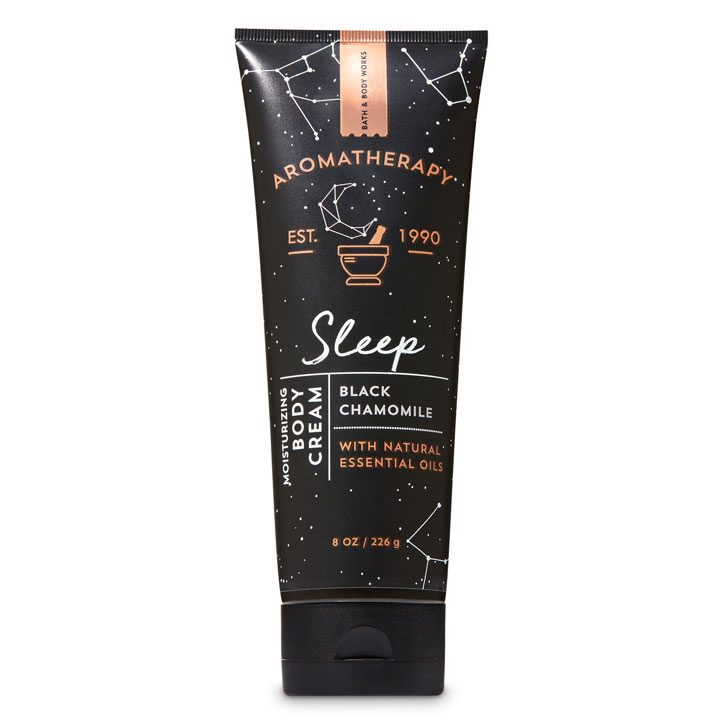 Kem dưỡng da Bath & Body Works Aromatherapy - Sleep Black Chamomile, 226g