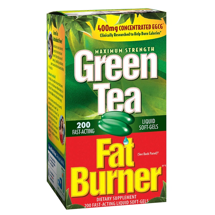 Green Tea Fat Burner, 200 viên