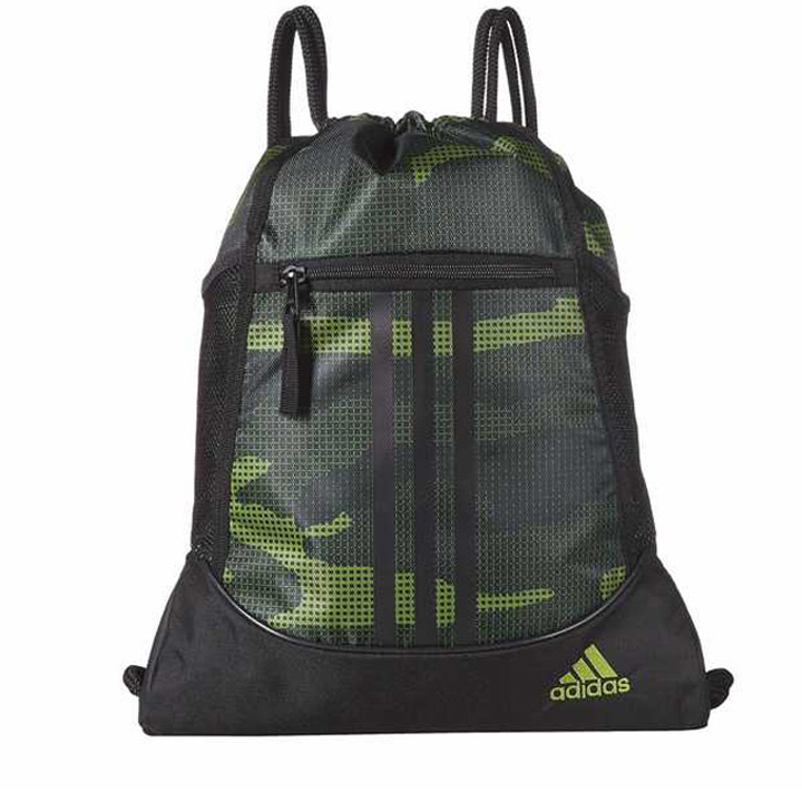Adidas Alliance II SackPack, Tech Olive Off The Grid Camo/Black