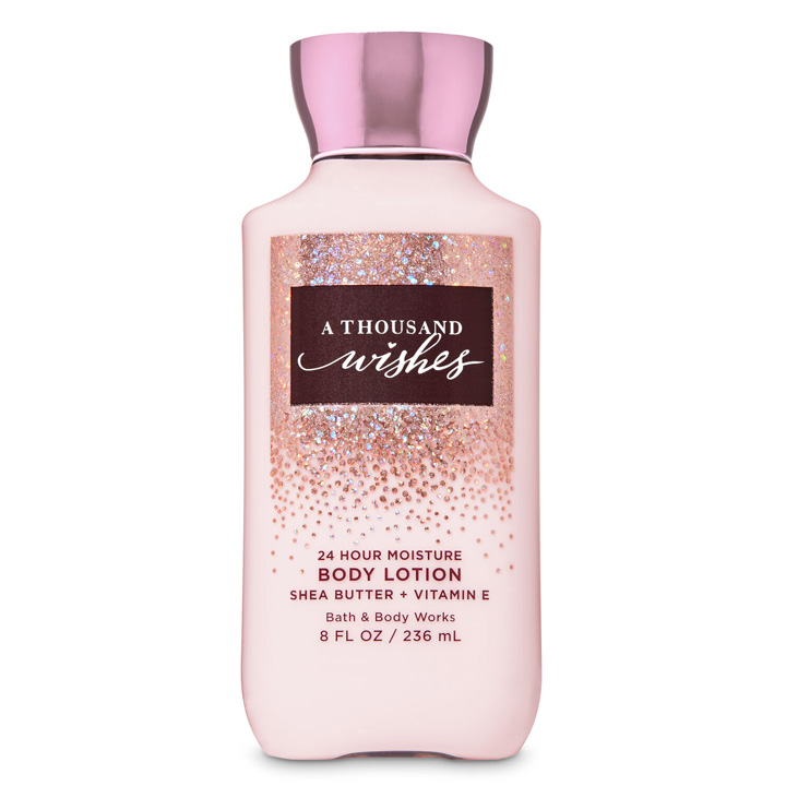 Lotion dưỡng da Bath & Body Works - A Thousand Wishes, 236ml