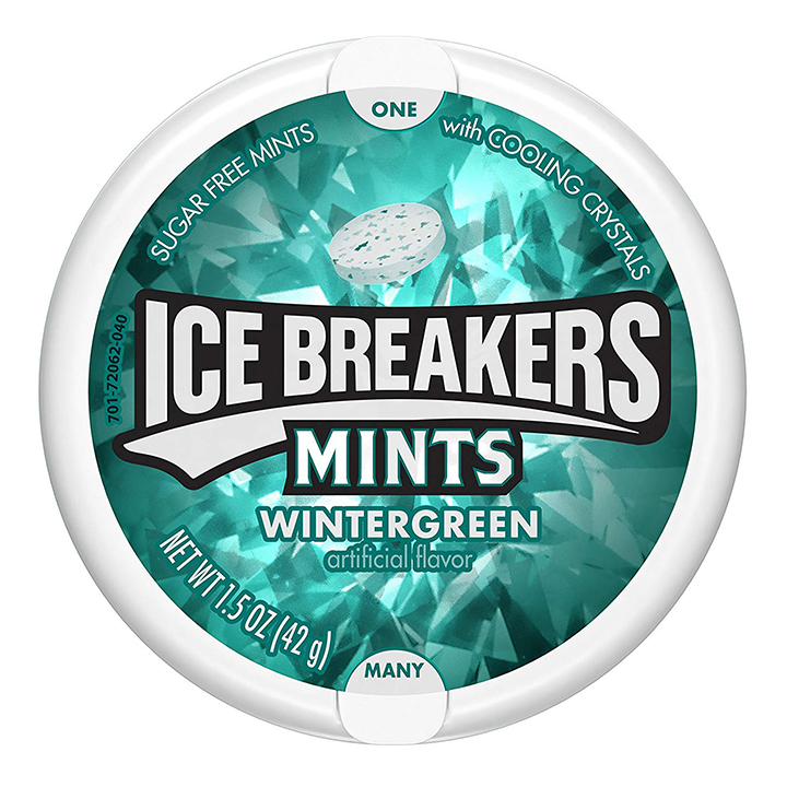 Ice Breakers Mints Wintergreen - Sugar Free Mints, 42g