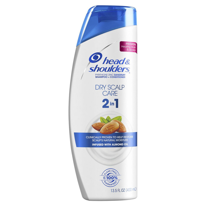 Dầu gội xả Head & Shoulders Dry Scalp Care 2in1 With Almond Oil, 400ml