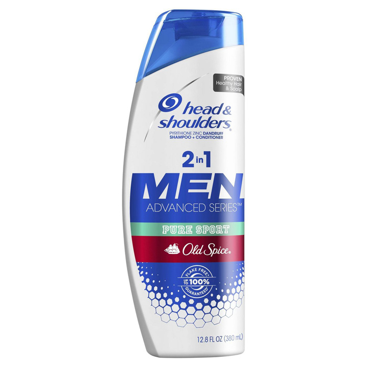 Dầu gội xả Head & Shoulders Old Spice Pure Sport 2in1 For Men, 380ml